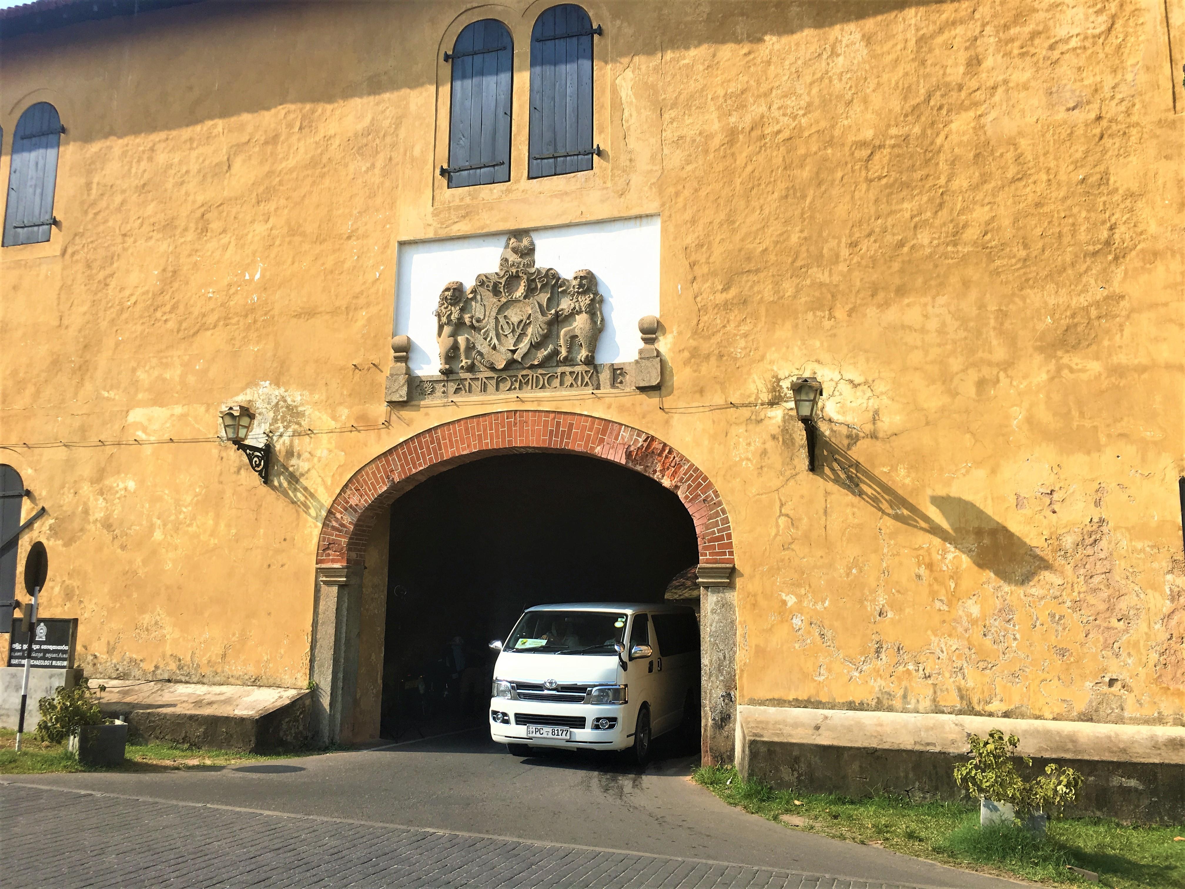 Vieille entrée Galle