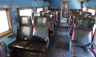 Sri Lanka train 2ème et 3ème classe