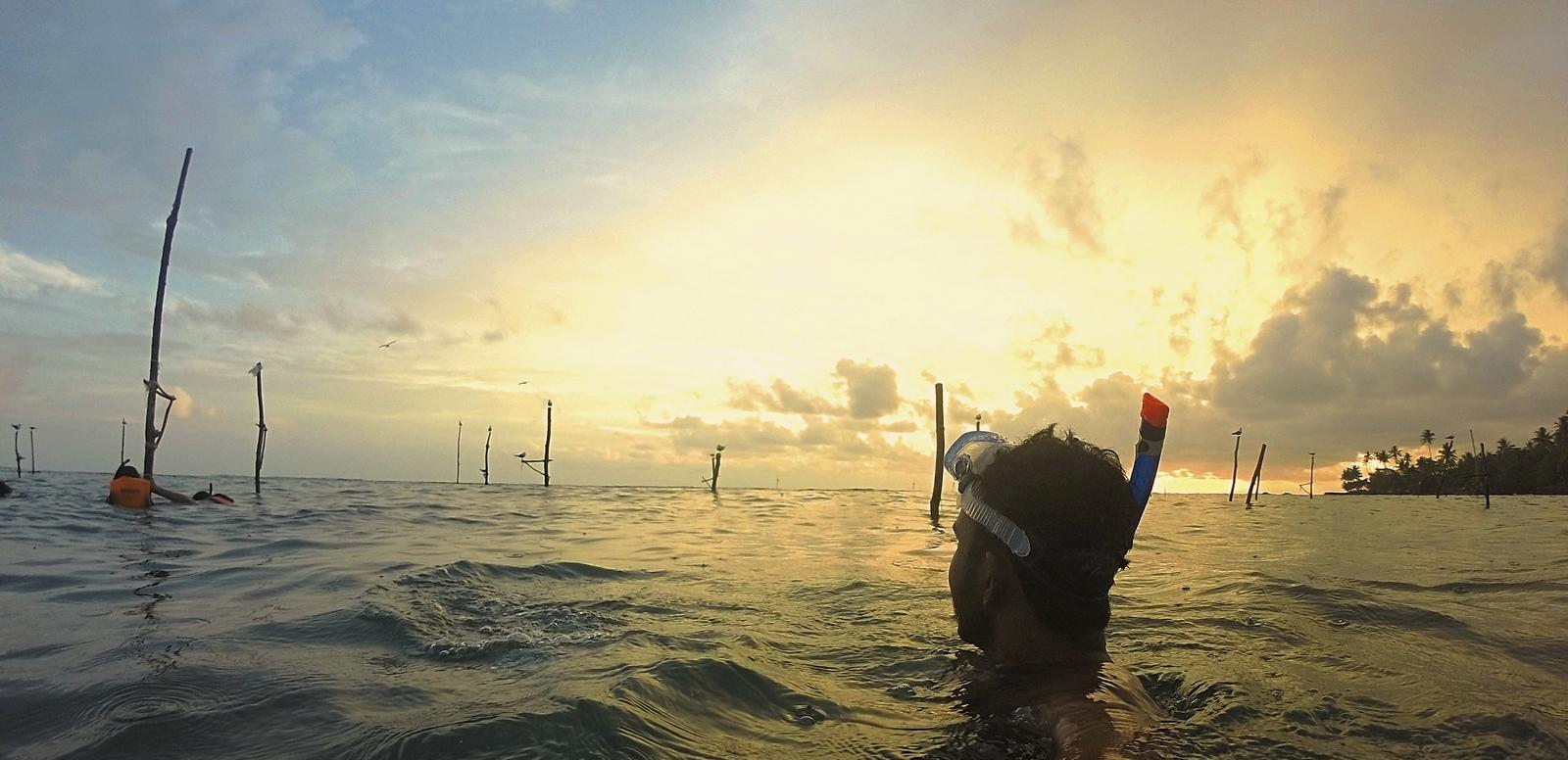 sri lanka authentique manju snorkeling