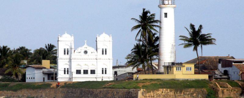 Le phare et la Mosquée, Galle