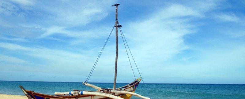 Catamaran typique, Negombo