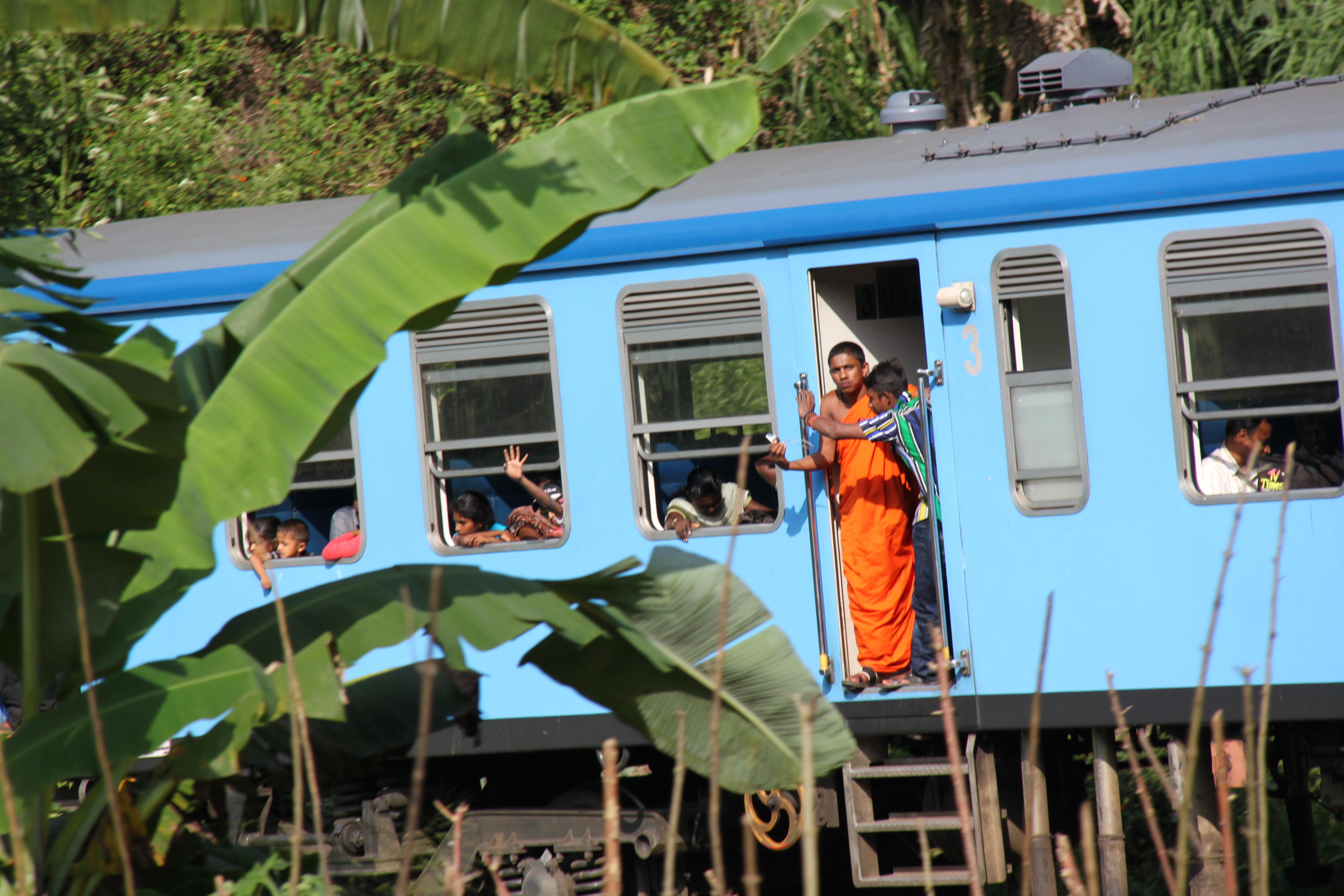 Train Sri Lanka moine