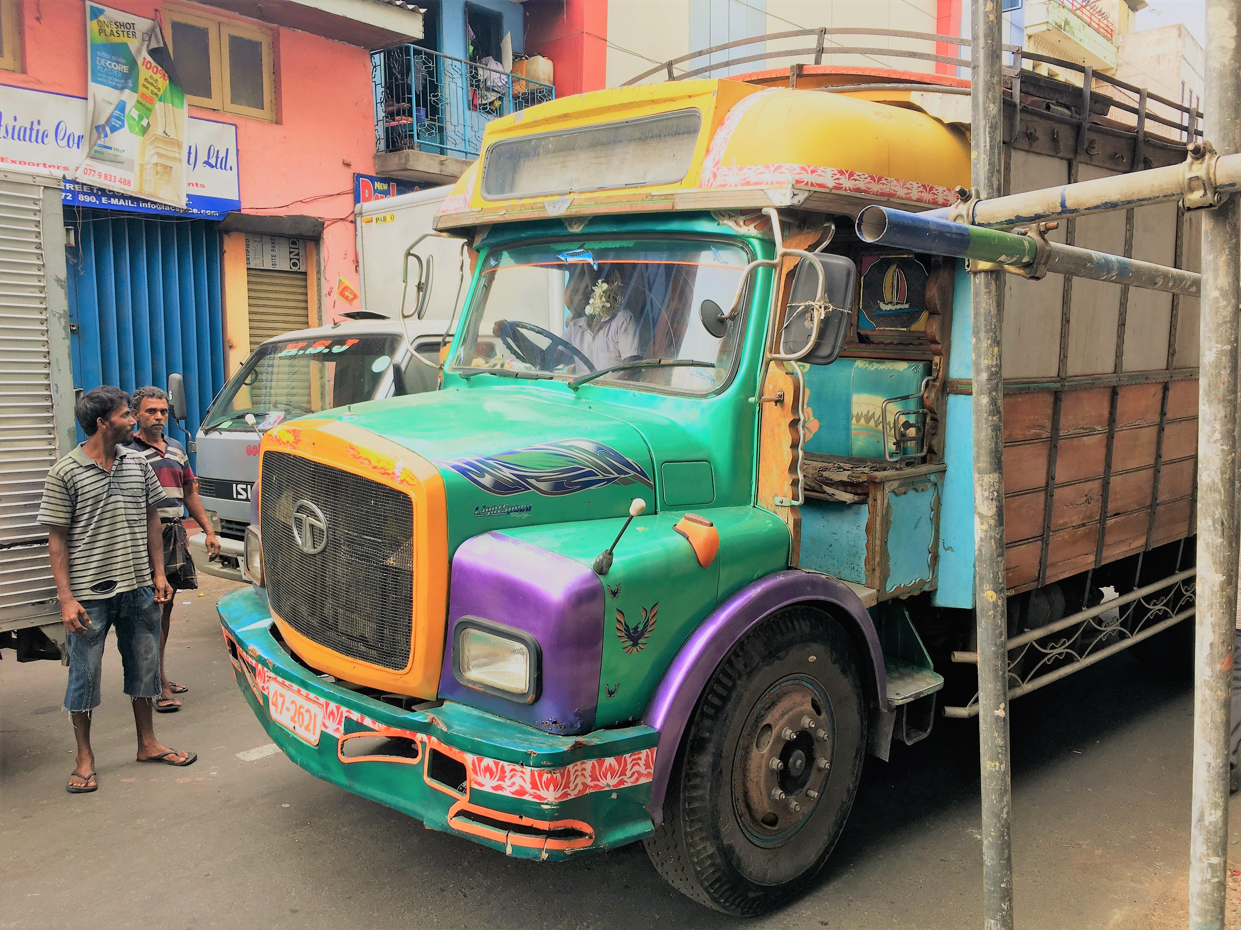 Camion bariolé, Pettah