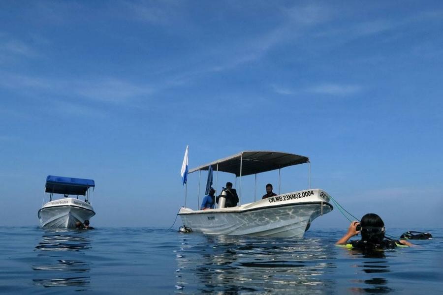 plongée sri lanka - colombo - island scuba bateau