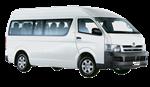 Minibus gris